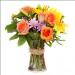 573973 Vários arranjos de flores podem ser criados. Foto divulgação 150x150 Arranjo de flores coloridas: como fazer