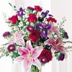 573973 Vários tipos de flores podem ser usadas. Foto divulgação 150x150 Arranjo de flores coloridas: como fazer