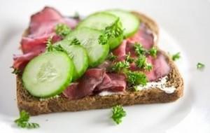 Recheios de sanduíche para quem está de dieta