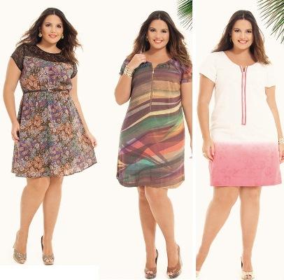 575107 Dicas de vestido para gordinhas tendência 2013.3 Dicas de vestido para gordinhas: tendência 2013