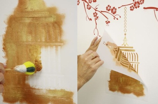576444 Molde para pintura estêncil como fazer 1 Molde para pintura estêncil: como fazer