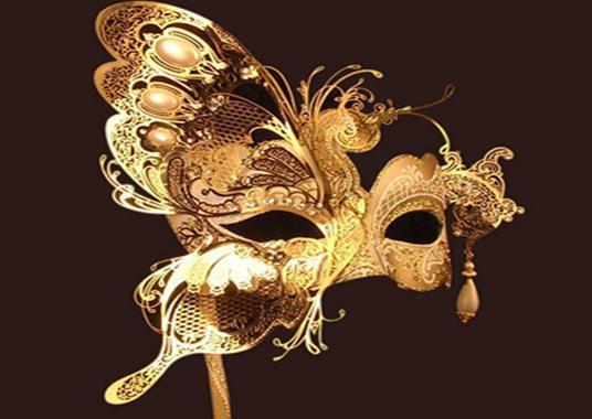 577151 Modelos de máscara de Carnaval fotos 23 Modelos de máscara de Carnaval: fotos