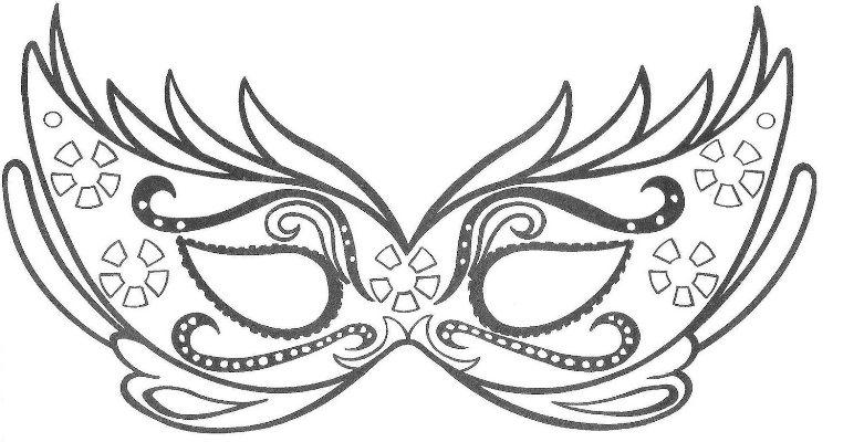577151 Modelos de máscara de carnaval fotos Modelos de máscara de Carnaval: fotos
