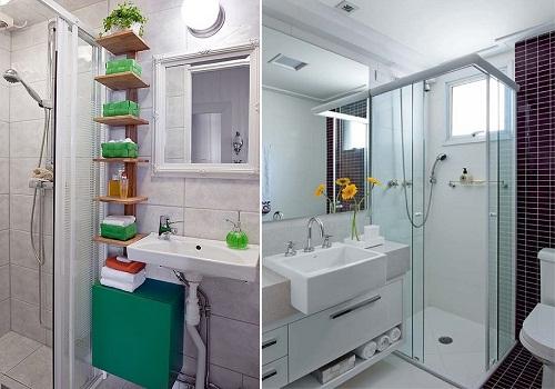 Dicas de decoração para banheiro pequeno -> Banheiro Pequeno Planta