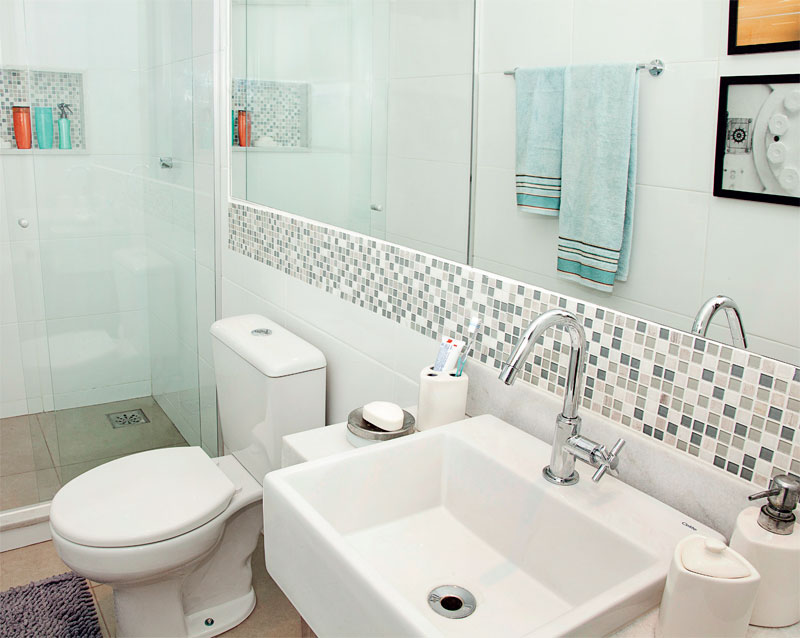 Dicas de decoração para banheiro pequeno -> Banheiro Pequeno Dicas