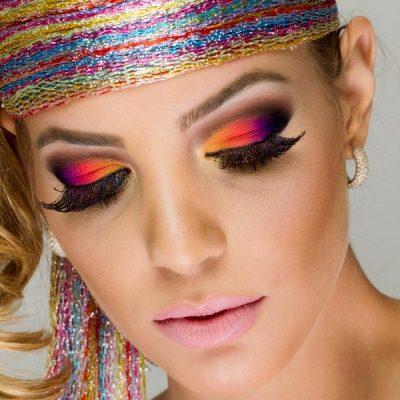 578999 Maquiagem colorida para o carnaval produtos.3 Maquiagem colorida para o Carnaval: produtos