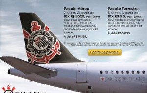 Pacotes CVC Vai Corinthians