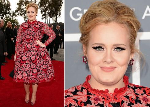 580104 Vestido de Adele no Grammy 2013 1 Vestido de Adele no Grammy 2013