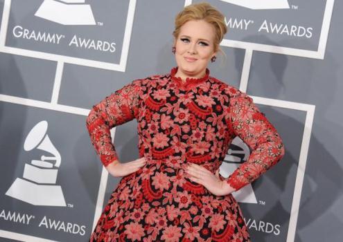 580104 Vestido de Adele no Grammy 2013 Vestido de Adele no Grammy 2013