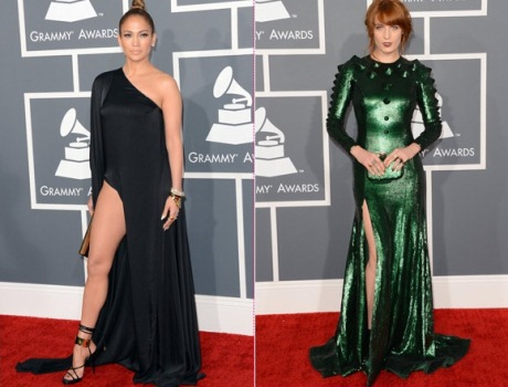 580121 Vestidos das famosas Grammy 2013 6 Vestidos das famosas Grammy 2013