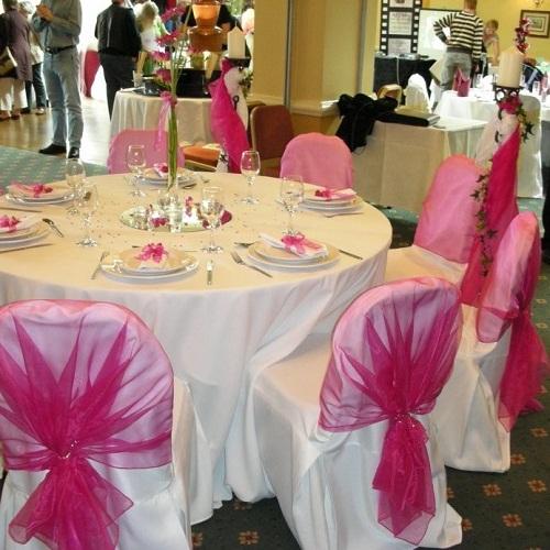 581850 Decoração de casamento branco e rosa 02 Decoração de casamento branco e rosa