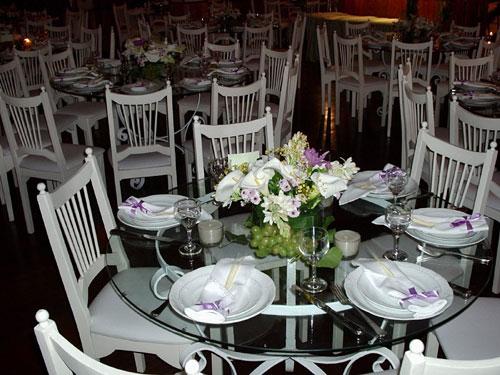 de decoração para mesas de casamento 03 Estilos de decoração para