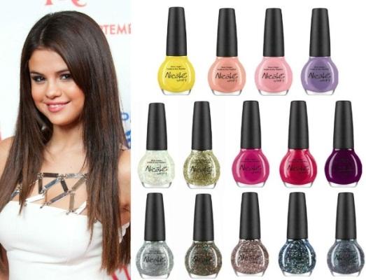 582728 Linha de esmaltes de Selena Gomez.2 Linha de esmaltes de Selena Gomez