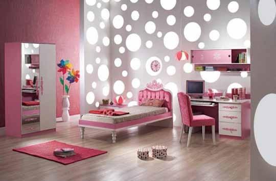 583763 Vários modelos de decoração podem ser criadas. Foto divulgação Quartos cor de rosa para meninas: fotos