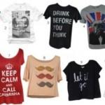 583775 As camisetas divertidas estão entre as tendências da moda atual. Foto divulgação 150x150 Camisetas com estampas divertidas: fotos