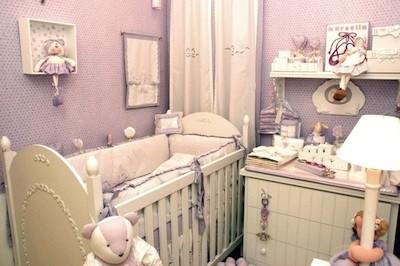 58402 decoracao de quarto de bebe lilas 5 Decoração de Quarto de Bebê Lilás