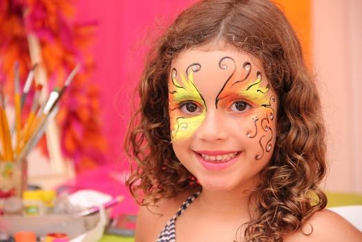 584253 Maquiagem artística para aniversário infantil 1 Maquiagem artística para aniversário infantil