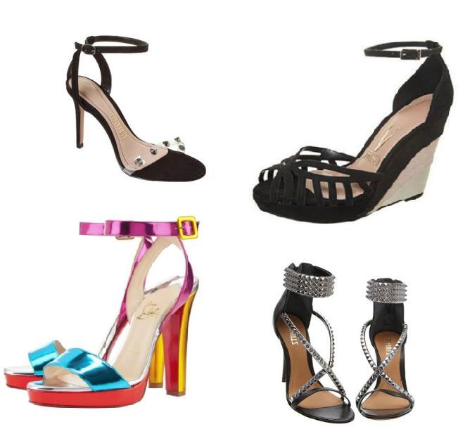 584440 Sandálias com tiras no tornozelo modelos dicas Sandálias com tiras no tornozelo: modelos, dicas