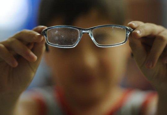 585023 Problemas de visão podem prejudicar o rendimento da criança na escola. Foto divulgação O que pode causar o baixo rendimento escolar