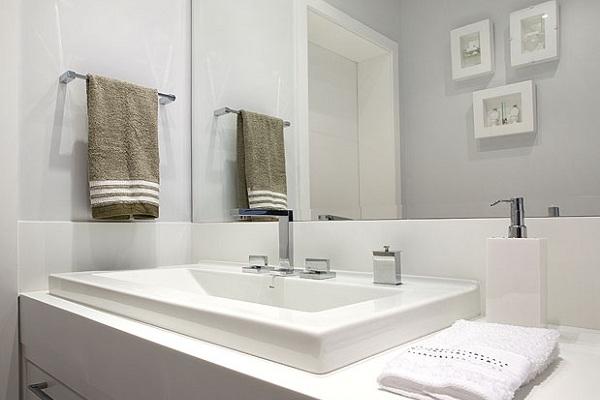 586096 cores claras Banheiro pequeno: dicas para decorar, fotos