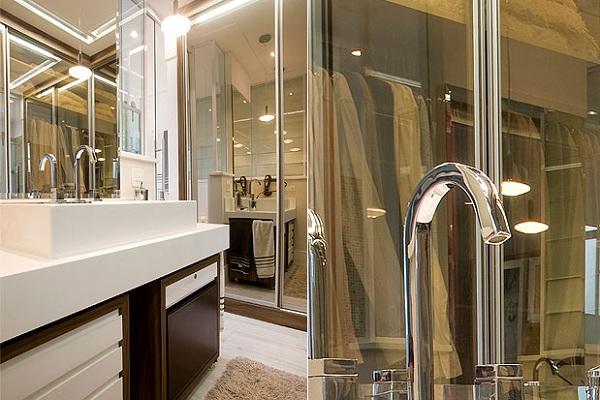 586096 espelho Banheiro pequeno: dicas para decorar, fotos