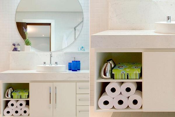 586096 móveis Banheiro pequeno: dicas para decorar, fotos
