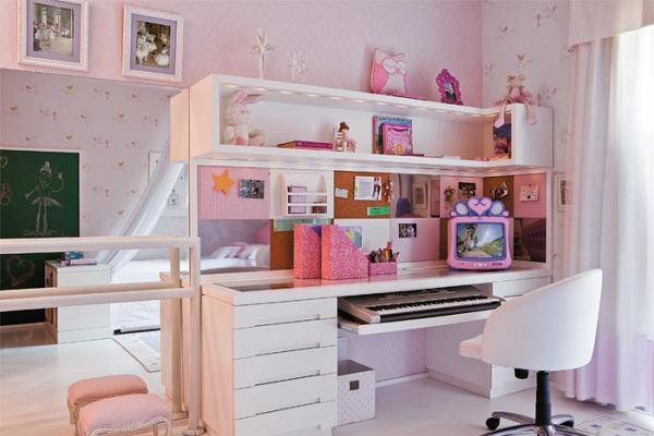 586158 decoracao quarto de crianca 00 Quarto pequeno: dicas de organização