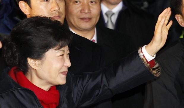586574 Coreia do Sul elege sua 1ª presidente mulher 000 Coreia do Sul elege sua 1ª presidente mulher