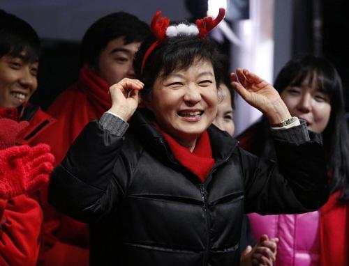 586574 Coreia do Sul elege sua 1ª presidente mulher 01 Coreia do Sul elege sua 1ª presidente mulher