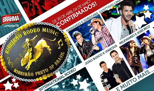 586702 ribeirao rodeo music 2013 datas shows 3 Ribeirão Rodeo Music 2013: datas, shows