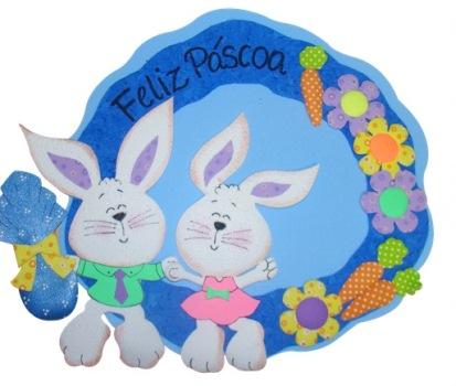587275 Decoração de páscoa em EVA para sala de aula 2 Decoração de Páscoa em EVA para sala de aula