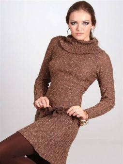 591022 Vestidos de tricô modelos dicas 9 Vestidos de tricô: modelos, dicas