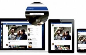 Novo feed de notícias do Facebook