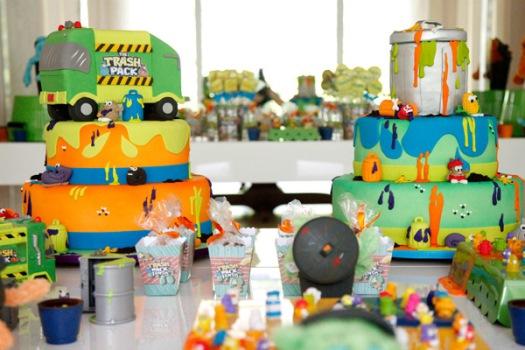 594221 Decoração de aniversário tema Trash Pack 10 Decoração de aniversário tema Trash Pack