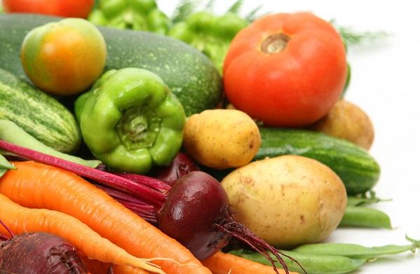 594426 vegetais Vegetais e frutas: safra de abril
