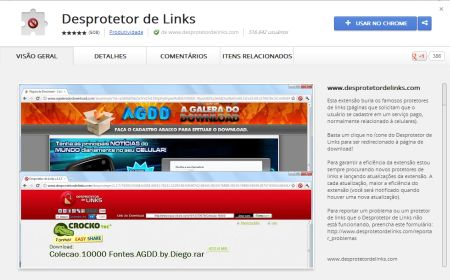 595725 desprotetor de links para chrome baixar download 1 Desprotetor de Links para Chrome: baixar, download