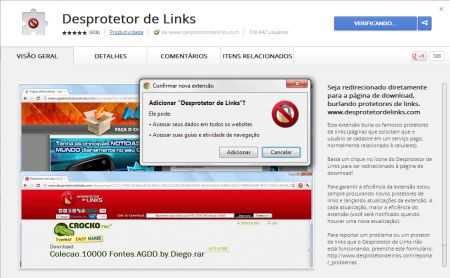595725 desprotetor de links para chrome baixar download 2 Desprotetor de Links para Chrome: baixar, download