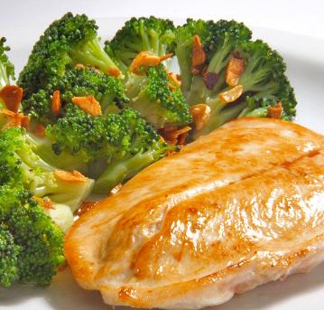 597231 Receita de frango com brócolis 1 Receita de frango com brócolis