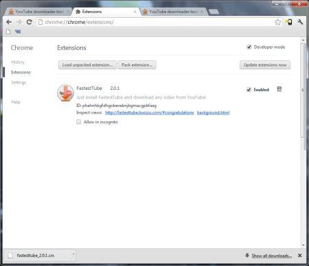 TABLOIDE A.E.S.C. MAMAÔ: FastestTube para Chrome: download ...