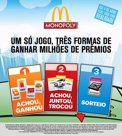 599711 promocao mcdonalds e monopoly 2 Promoção McDonalds e Monopoly