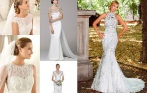 Vestidos de noiva para o outono  2013: dicas, tendências