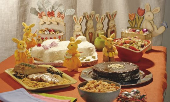 600620 Decorar uma mesa de páscoa para crianças 3 Decorar uma mesa de Páscoa para crianças