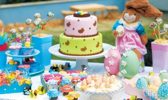 600620 Decorar uma mesa de páscoa para crianças Decorar uma mesa de Páscoa para crianças