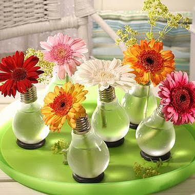 601627 Vasos de Flores com Lâmpadas Passo a Passo 02 Vasos de Flores com Lâmpadas: Passo a Passo