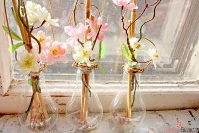 601627 Vasos de Flores com Lâmpadas Passo a Passo 04 Vasos de Flores com Lâmpadas: Passo a Passo