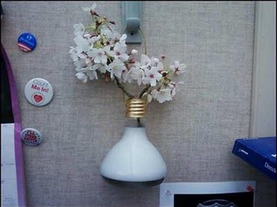 601627 Vasos de Flores com Lâmpadas Passo a Passo 07 Vasos de Flores com Lâmpadas: Passo a Passo