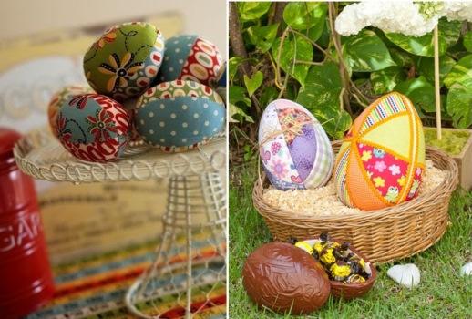 601995 Como decorar ovos de pascoa com tecidos 2 Como decorar ovos de Páscoa com tecidos
