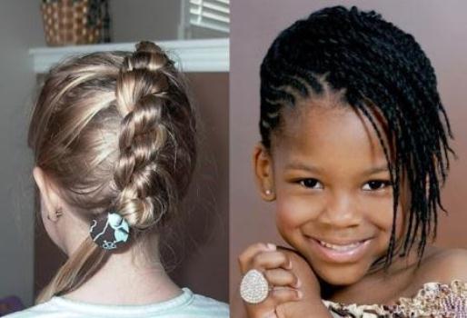 602508 Escolha os modelos mais confortáveis para a criança. Foto divulgação Penteados infantis para festas e eventos