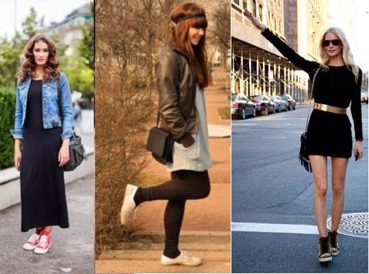 602890 Vestido com tênis ou botas dicas.3 Vestido com tênis ou botas: dicas