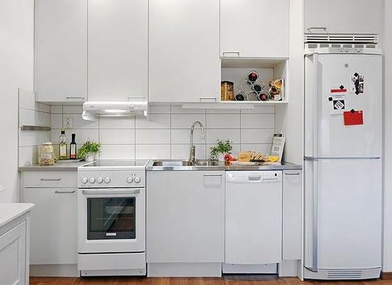 603028 Ideias para cozinhas pequenas 2 Cozinha pequena: cuidados ao decorar